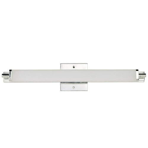 Maxim Lighting Maxim Lighting Director Polished Chrome LED Vertical Bathroom Light 53033WTPC