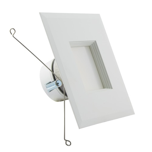 Satco Lighting Satco 5-6 Inch 11.5W Square Color Selectable LED Downlight Retrofit 1000LM 90CRI S11821