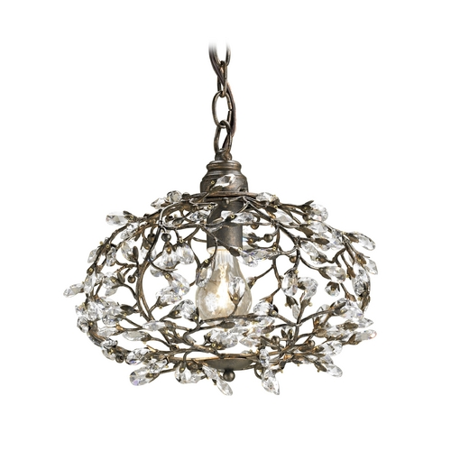 Currey and Company Lighting Pendant Light in Cupertino Finish 9003