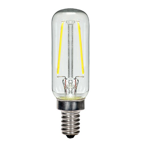 Led Light Bulb Candelabra Base: 2.5W LED T6 Candelabra Base Bulb 2700K 200LM