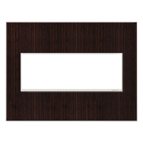 Legrand Adorne Legrand Adorne Wenge Wood 3-Gang Switch Plate AWM3GWE4