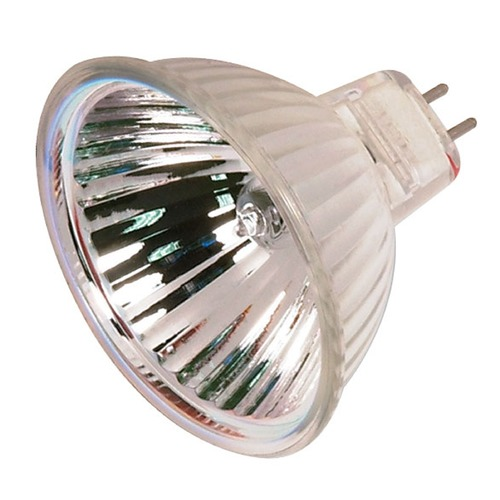 Satco Lighting MR-16 Halogen Light Bulb 2 Pin Spot 10 Degree Beam Spread 2900K 12V Dimmable S2624