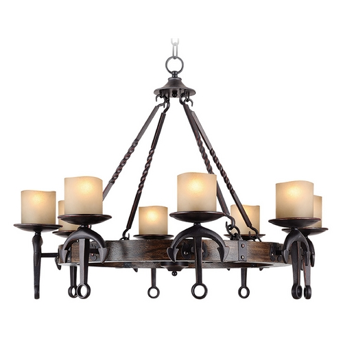 Livex Lighting Livex Lighting Cape May Olde Bronze Chandelier 4868-67