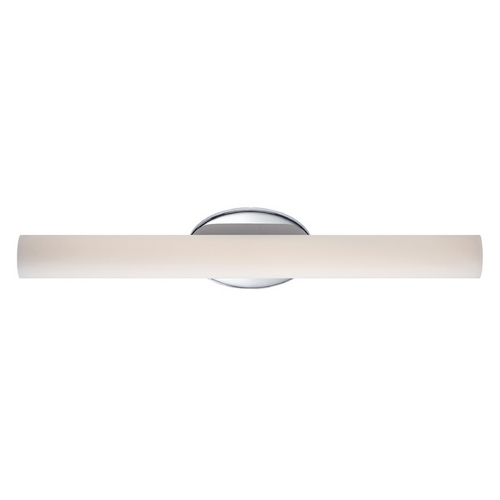 Modern Forms by WAC Lighting Loft Chrome LED Bathroom Light - Vertical or Horizontal Mounting WS-3624-CH
