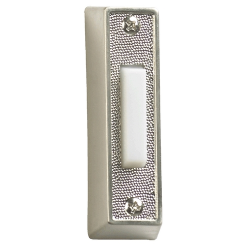 Quorum Lighting Quorum Lighting Satin Nickel Doorbell Button 7-101-65