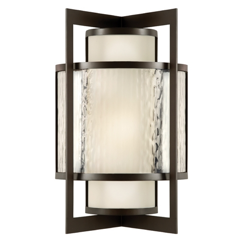 Fine Art Lamps Fine Art Lamps Singapore Moderne Outdoor Dark Bronze Patina Outdoor Wall Light 818181ST