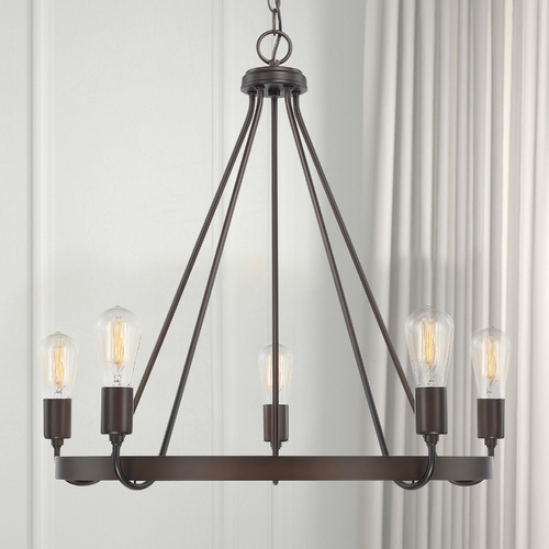 HomePlace by Capital Lighting Homeplace By Capital Lighting Tanner Bronze Chandelier 420061BZ
