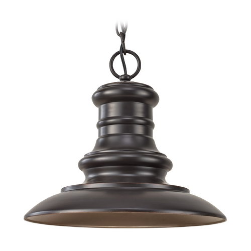 Feiss Lighting Outdoor Hanging Light in Restoration Bronze Finish OL8904RSZ