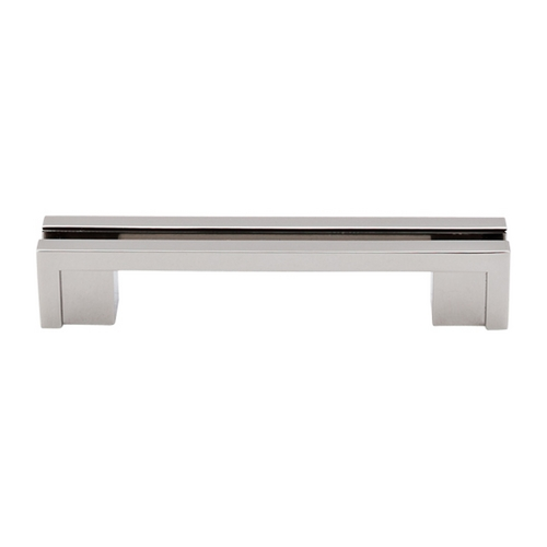Top Knobs Hardware Modern Cabinet Pull in Polished Nickel Finish TK55PN