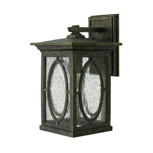 Hinkley Lighting Outdoor Wall Light with Clear Glass in Autumn Finish 1494AM