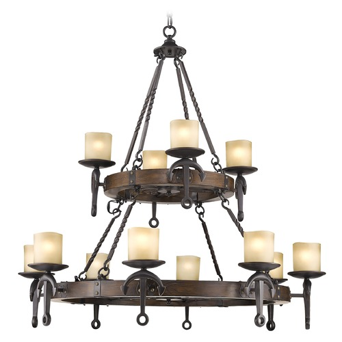 Livex Lighting Livex Lighting Cape May Olde Bronze Chandelier 4869-67