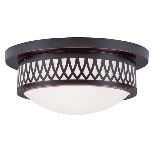 Livex Lighting Livex Lighting Westfield Olde Bronze Flushmount Light 7352-67