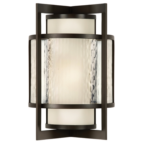Fine Art Lamps Fine Art Lamps Singapore Moderne Outdoor Dark Bronze Patina Outdoor Wall Light 818281ST