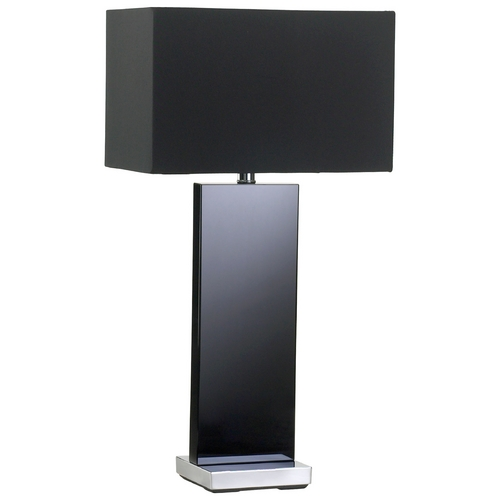 Cyan Design Cyan Design Vista Black Table Lamp with Rectangle Shade 04122