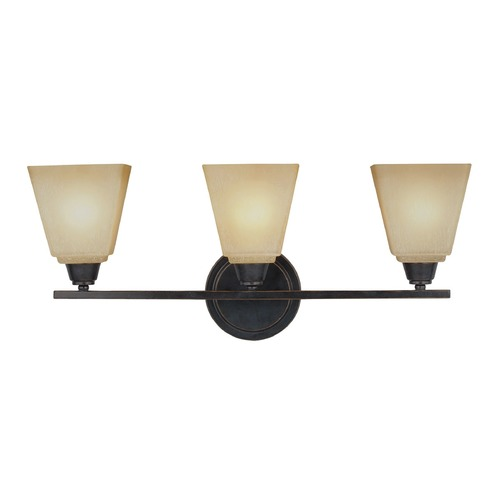 Sea Gull Lighting Sea Gull Lighting Parkfield Flemish Bronze Bathroom Light 4413003-845