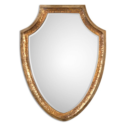 Uttermost Lighting Uttermost Lumarzo Antiqued Gold Mirror 12904