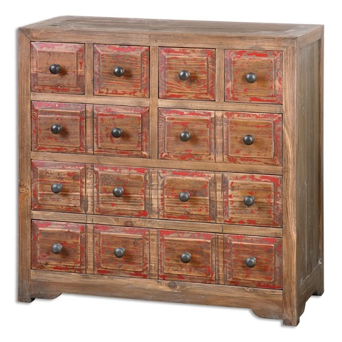 Uttermost Lighting Uttermost Rylee Weathered Drawer Chest 24481