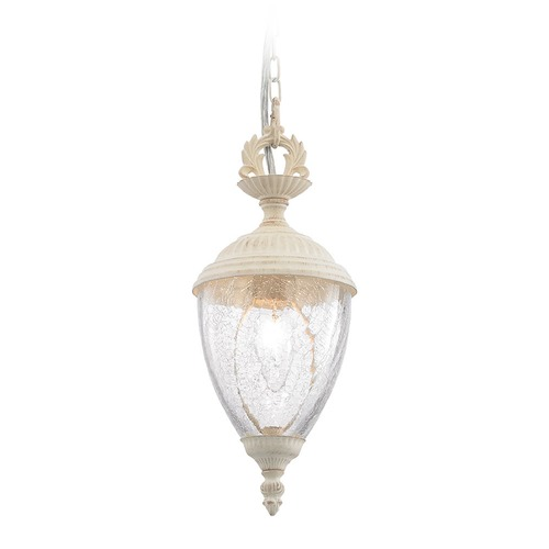 Elk Lighting Elk Lighting Lorraine Antique White Mini-Pendant Light with Bowl / Dome Shade 14421/1