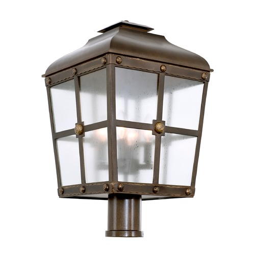 Kalco Lighting Kalco Shorecrest Aged Bronze Post Light 403400AGB