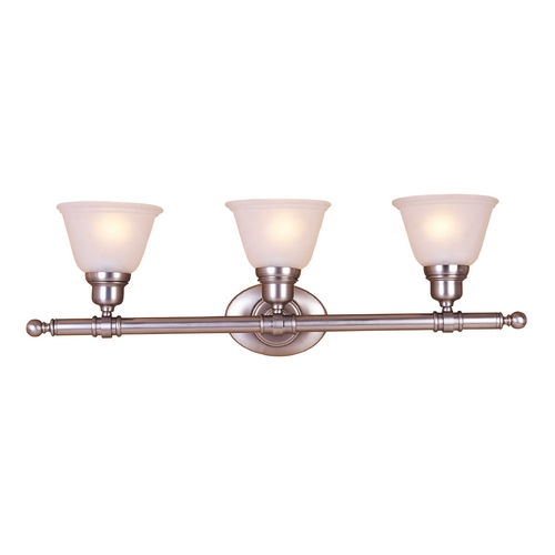 Maxim Lighting Maxim Lighting Essentials Satin Nickel Bathroom Light 7143FTSN