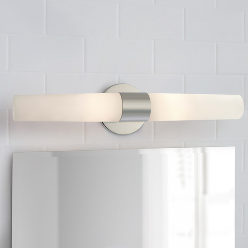 George Kovacs Lighting Bath Art Chrome Bathroom Light - Vertical or Horizontal Mounting P5042-077