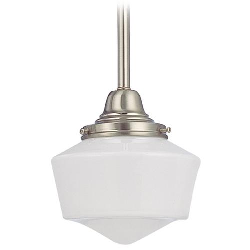 Design Classics Lighting 6-Inch Schoolhouse Mini-Pendant Light FC3-09 / GF6
