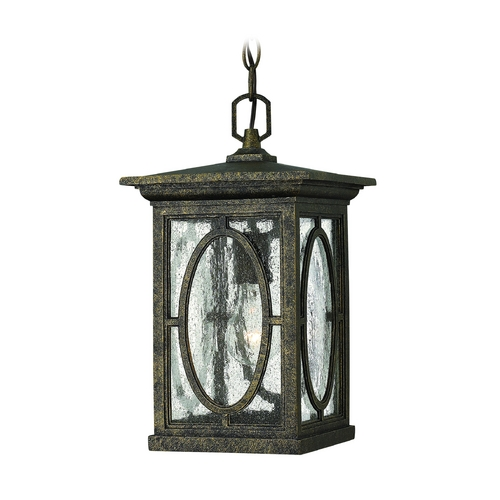 Hinkley Lighting Outdoor Hanging Light with Clear Glass in Autumn Finish 1492AM