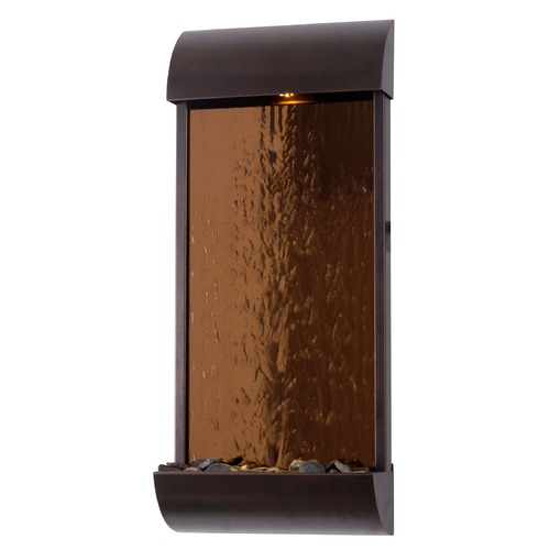 Kenroy Home Lighting Kenroy Home Lighting Aspen Bronze /copper Mirrored Face LED Fountain 50048BRZ