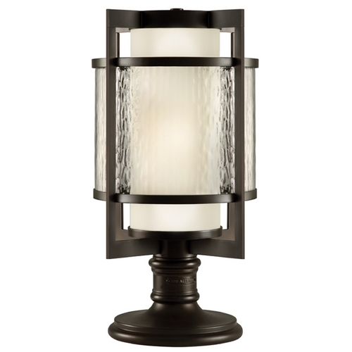 Fine Art Lamps Fine Art Lamps Singapore Moderne Outdoor Dark Bronze Patina Post Lighting 817583ST