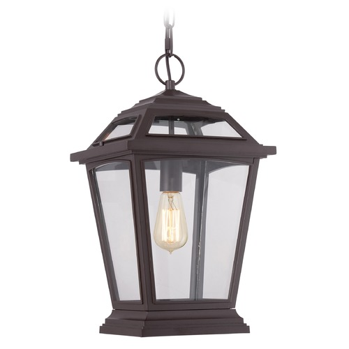 Quoizel Lighting Quoizel Ridge Western Bronze Outdoor Hanging Light RGE1911WT