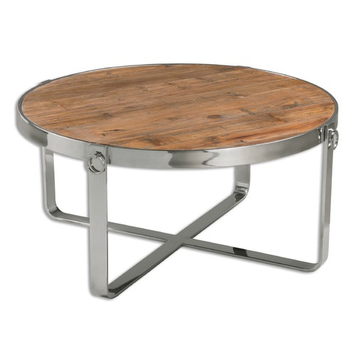 Uttermost Lighting Uttermost Berdine Wooden Coffee Table 24485