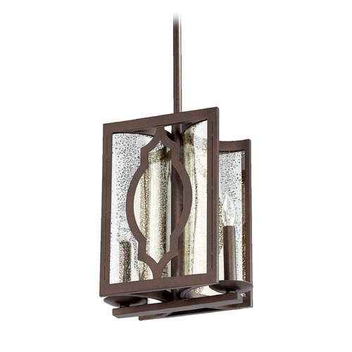 Quorum Lighting Quorum Lighting Ventana Oiled Bronze Mini-Pendant Light 3111-2-86