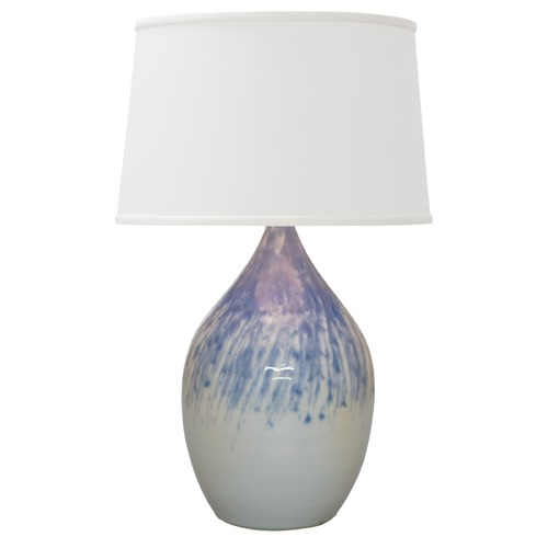 House of Troy Lighting House Of Troy Scatchard Decorated Gray Table Lamp with Empire Shade GS402-DG