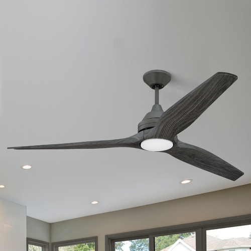 Craftmade Lighting Craftmade Lighting Limerick Aged Galvanized LED Ceiling Fan with Light K11286