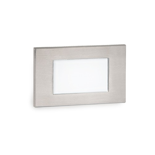 WAC Lighting LED Low Voltage Diffused Step and Wall Light 4071-AMSS