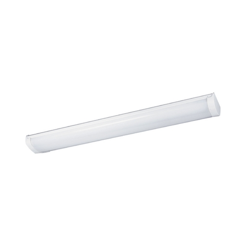 Progress Lighting Progress Lighting Linear Fluorescent Bath White 38.75-Inch Linear Light P7154-30STR