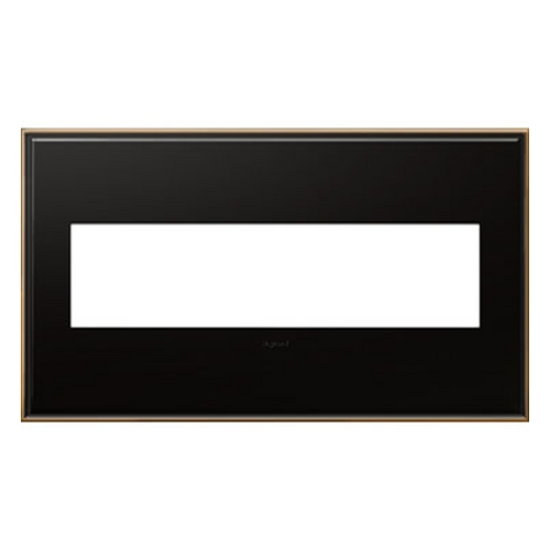 Legrand Adorne Legrand Adorne Oil-Rubbed Bronze 4-Gang Switch Plate AWC4GOB4