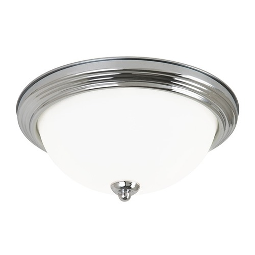 Sea Gull Lighting Sea Gull Lighting Ceiling Flush Mount Chrome Flushmount Light 79565BLE-05