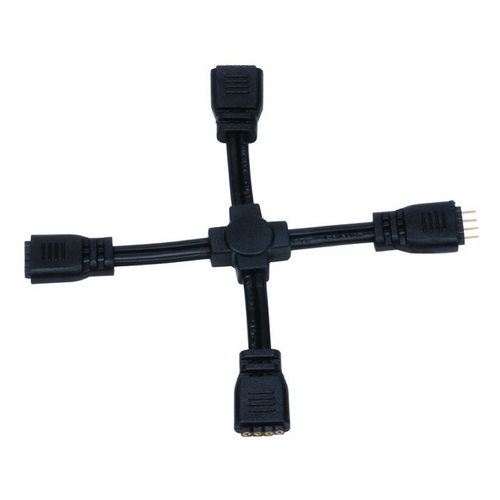 WAC Lighting WAC Lighting InvisiLED Four-way X Connector LED-T-X