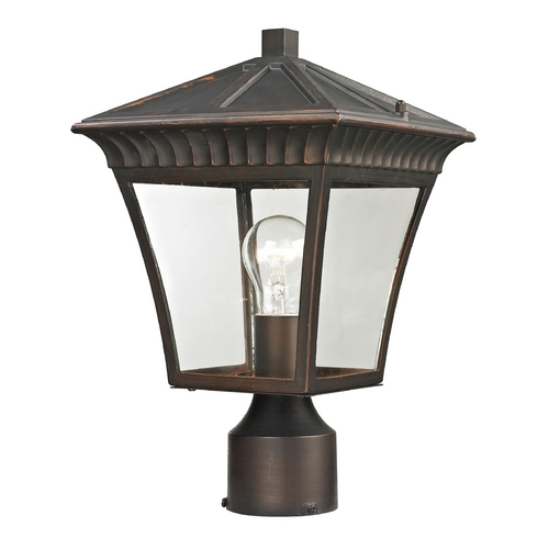 Cornerstone Lighting Cornerstone Lighting Ridgewood Hazelnut Bronze Post Light 8411EP/70