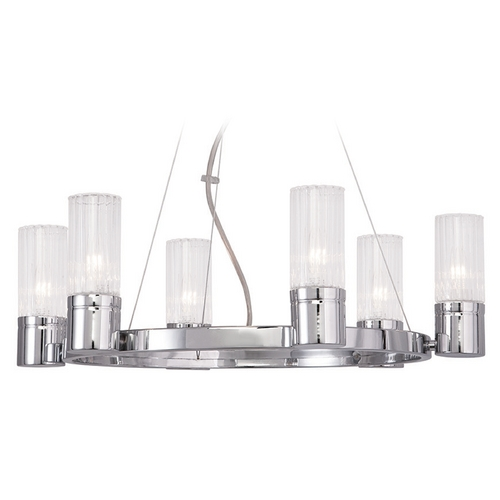 Livex Lighting Livex Lighting Midtown Chrome Chandelier 50696-05