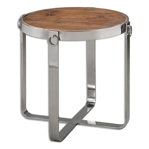 Uttermost Lighting Uttermost Berdine Wooden Side Table 24486