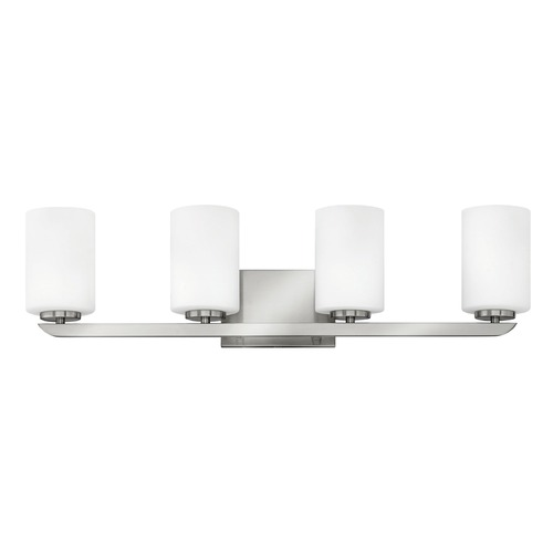 Hinkley Lighting Hinkley Lighting Kyra Brushed Nickel Bathroom Light 55024BN