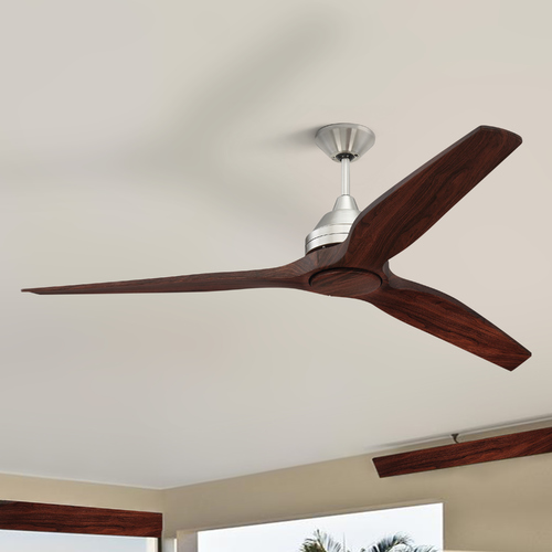 Craftmade Lighting Craftmade Lighting Limerick Brushed Polished Nickel LED Ceiling Fan with Light K11287