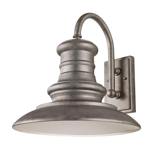 Feiss Lighting Feiss Lighting Redding Station Tarnished Outdoor Wall Light OL9004TRD