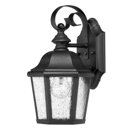 Hinkley Lighting LED Outdoor Wall Light with Clear Glass in Black Finish 1674BK-LED