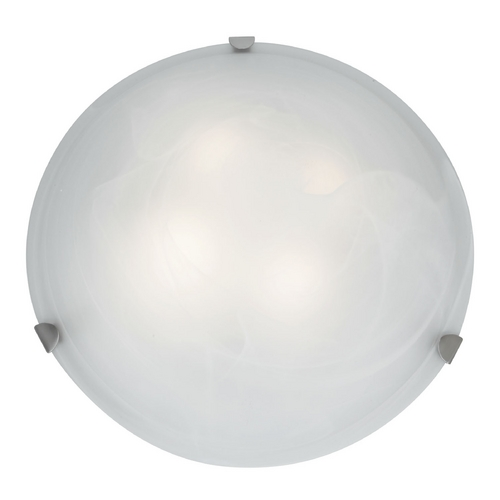 Access Lighting Access Lighting Mona Brushed Steel Flushmount Light C23021BSALBEN1226BS
