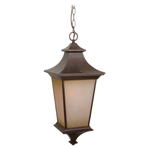 Craftmade Lighting Craftmade Lighting Argent Aged Bronze Textured Outdoor Hanging Light Z1321-AG