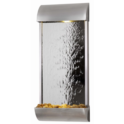 Kenroy Home Lighting Kenroy Home Lighting Waterville Stainless Steel /mirrored Face Fountain 50052STST