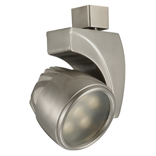 WAC Lighting Wac Lighting Brushed Nickel LED Track Light Head J-LED18S-CW-BN